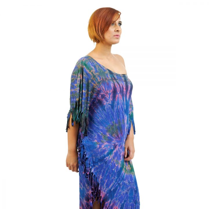 Poncho Dress with Tassel at FunkyFusion for Best Prices